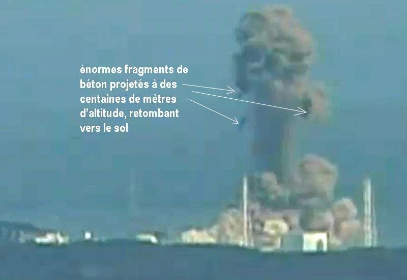 explosion réacteur 3